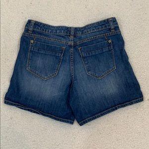 Mossimo Premium Denim Fit 3 Jean Shorts  Sz 2